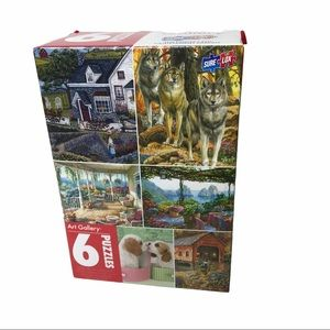 Art Gallery 6 jigsaw Puzzle Pack